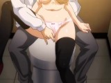 Hentai Crimson Girls Episode 3 Public Train and Toilet Gangbang
